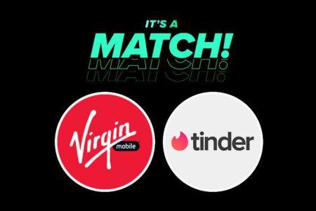 Virgin Mobile México y Tinder hacen match para ayudarte a conseguir la cita perfecta