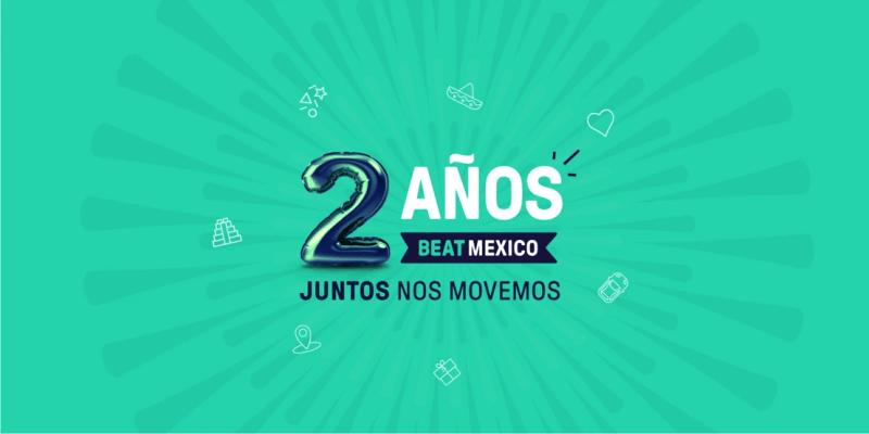 Beat celebra dos años de transformar la movilidad en México - beat-movilidad-en-mexico-1-800x400