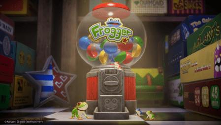 Konami anuncia actualización del modo Endurance para Frogger in Toy Town