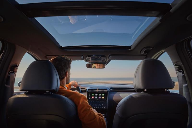 Hyundai Tucson 2022 llega a México totalmente renovada - hyundai-tucson-2022-19-hyundai-tucson-interactive-shot-interior