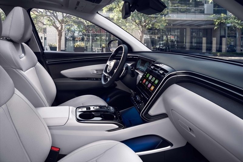 Hyundai Tucson 2022 llega a México totalmente renovada - hyundai-tucson-2022-mx