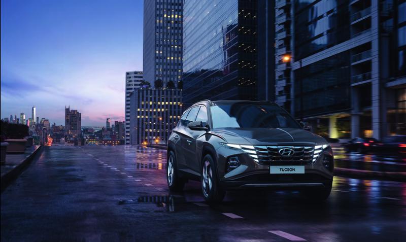 Hyundai Tucson 2022 llega a México totalmente renovada - hyundai-tucson-2022-suv-1