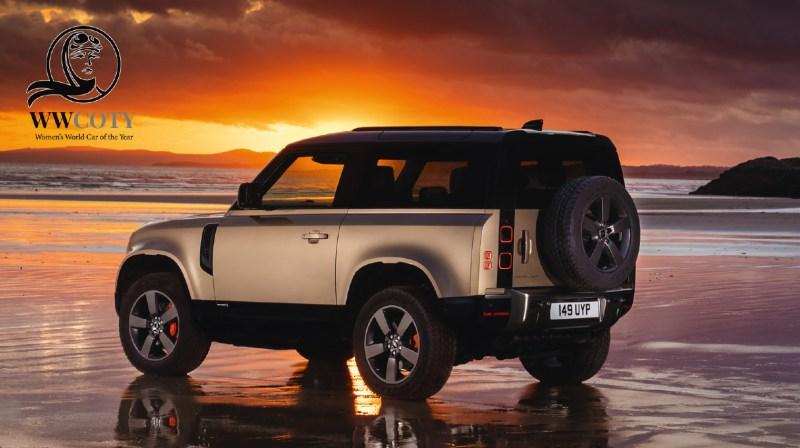 Land Rover Defender ha sido nombrado Ganador Supremo en los Women's World Car of the Year 2021 - land-rover-defende-wwcoty-800x448