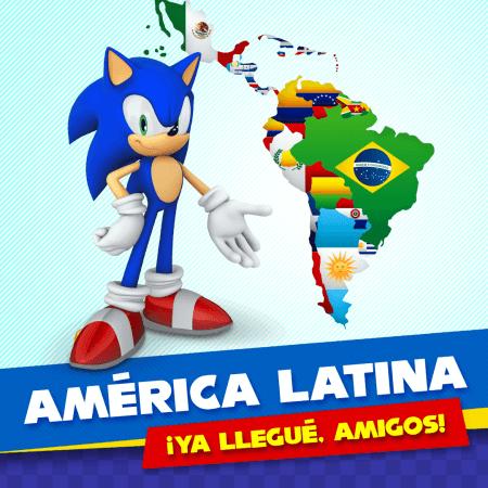 Las redes sociales oficiales de Sonic llegan a América Latina