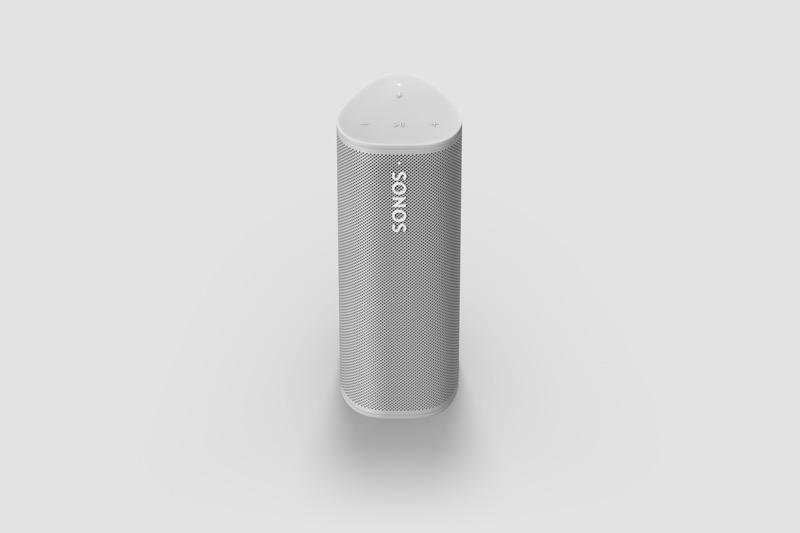 Sonos Roam, bocina inteligente ultra portátil ¡conoce sus características y precio en México! - sonos-roam-lunar-white