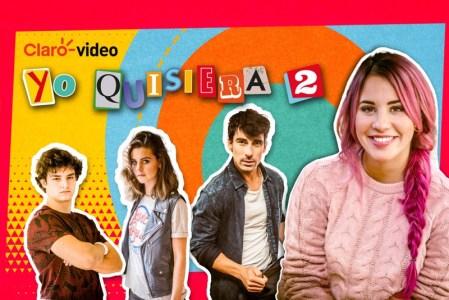 """Claro video estrena la segunda temporada de """"Yo quisiera"""""""