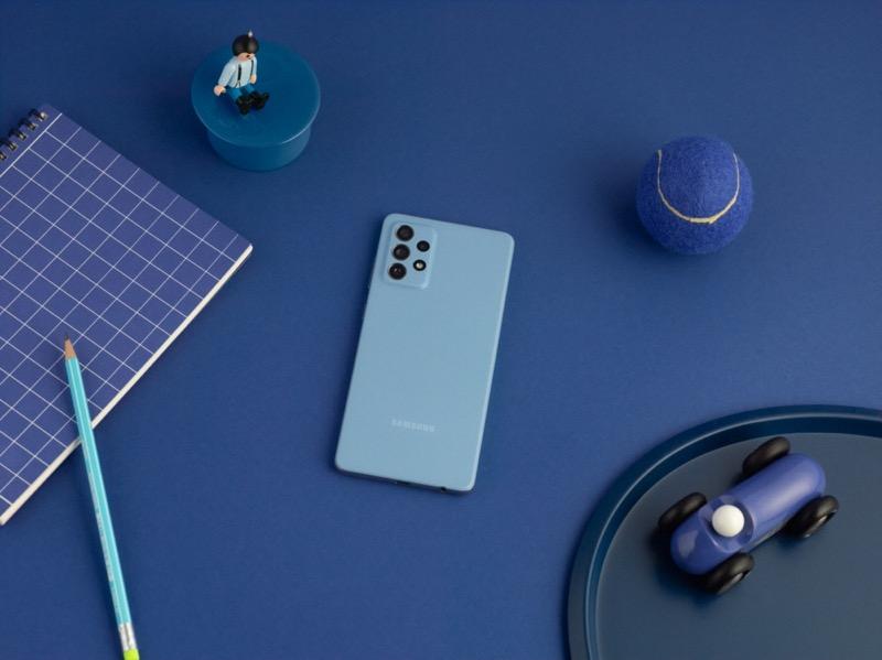 Samsung Galaxy A32, A52 y A72 ¡ya disponibles en México! - 07-galaxya72-lifestyle-blue