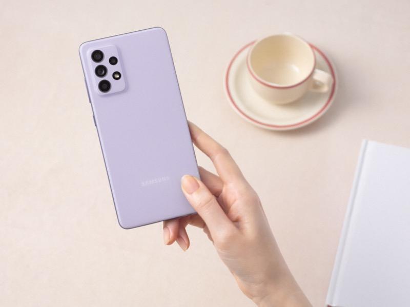Samsung Galaxy A32, A52 y A72 ¡ya disponibles en México! - 11-galaxya52-handson-violet