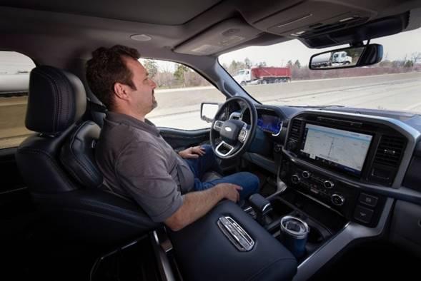 Ford comenzará a ofrecer BlueCruise, nuevo sistema de conducción autónoma - bluecruise
