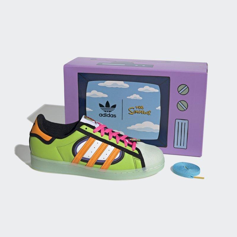 SUPERSTAR SIMPSON SQUISHEE: colección de adidas Originals x Los Simpson ¡ya está disponible!