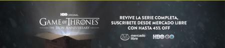 Por primera vez, Mercado Libre cambia las cajas de sus envíos para celebrar el aniversario de Game of Thrones