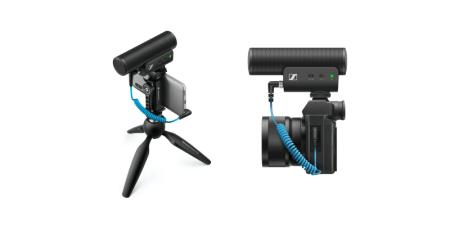 Sennheiser lanza MKE 400: micrófono para grabar audio profesional con smartphones o cámaras portátiles