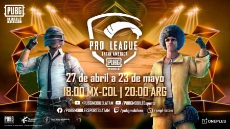 Anuncian los equipos y las fechas oficiales de un nuevo PUBG MOBILE Pro League LATAM (PMPL LATAM)