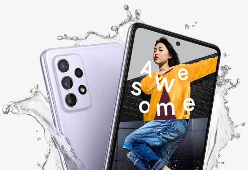 Samsung Galaxy A32, A52 y A72 ¡ya disponibles en México! - resistente-al-agua-galaxy-a72-800x548
