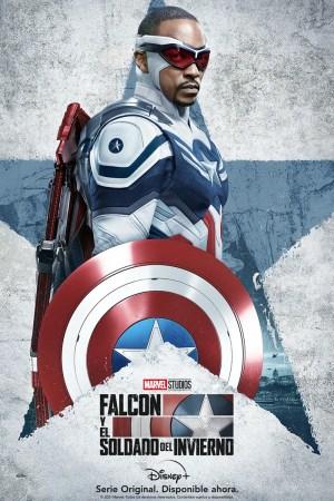 Sam Wilson como Capitán América en el nuevo póster de Falcon y el Soldado del Invierno