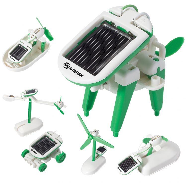 Selecciones regalos tecnológicos para festejar el día del niño - steren-kit-555-kit-solar