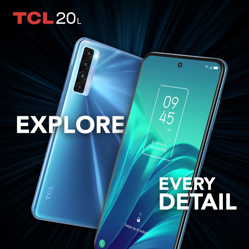 Nueva serie 20 de TCL ¡conoce sus características y precio! - tcl-20-l-800x800