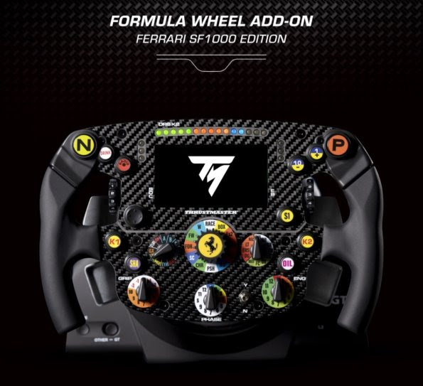 Thrustmaster presenta una réplica para carreras de simulación del volante del Ferrari SF1000 - thrustmaster-replica-carreras-simulacion-del-volante-ferrari-sf1000