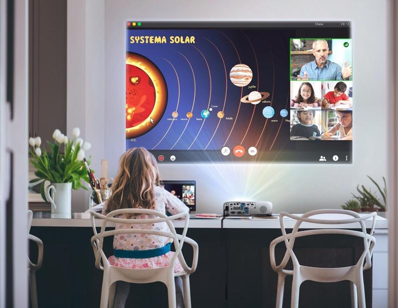 Videoproyector PowerLite E20 Epson, diseñado para que reinventes las áreas de tu hogar - videoproyector-powerlite-e20-epson