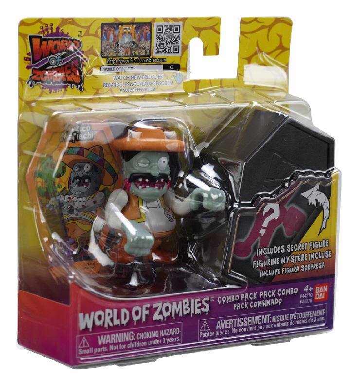 Llega a Bandai México la invasión de World of Zombies - world-of-zombies-bandai-woz-mexico
