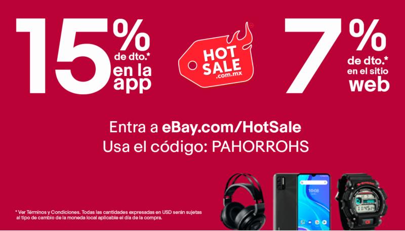 eBay lanza cupón de  descuento por Hot Sale 2021! - ebay-cupon-descuento-800x456