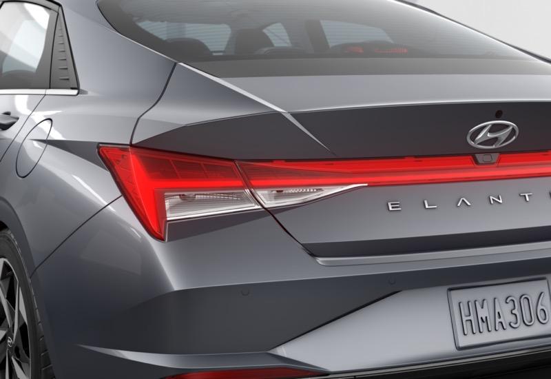 Hyundai Elantra 2022 ya está en México ¡conoce sus características y precio! - hyundai-2021-elantra-ltd-fwd-portofinogrey-black-tdp-ledtaillights