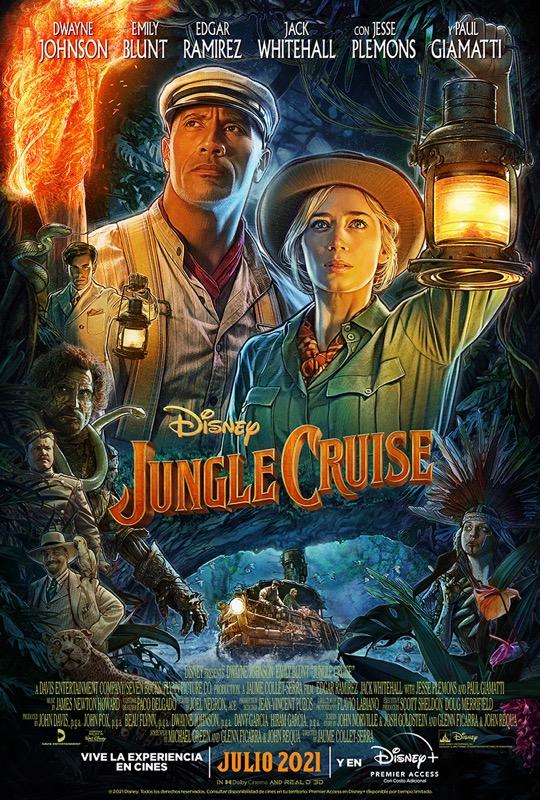 Ya están disponibles el nuevo tráiler y póster de Jungle Cruise de Disney - jungle-cruise
