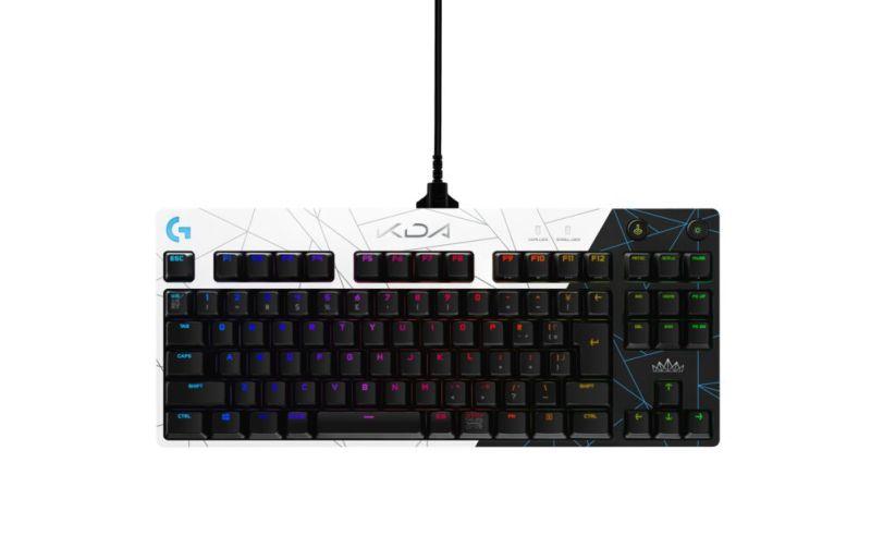 La K/DA Collection, productos gaming oficiales de League of Legends de Logitech G ¡ya disponibles! - k-dacollectionprogamingkeyboard-800x514