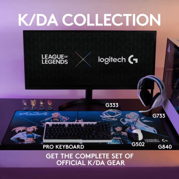 La K/DA Collection, productos gaming oficiales de League of Legends de Logitech G ¡ya disponibles!