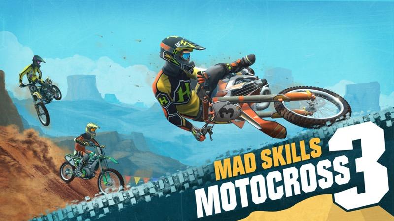 Mad Skills Motocross 3 anuncia su fecha de lanzamiento con un tráiler increíble - mad-skills-motocross-3-videojuego