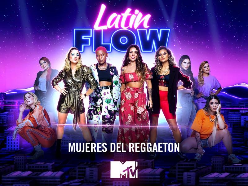 MTV y Amazon Prime Video revelan el estreno del docu-reality musical: Latin Flow