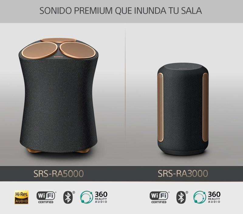 Sony presenta dos nuevas bocinas premium en México, ¡conoce sus características! - srs-ra-3000-5000-bocinas-sony-800x705