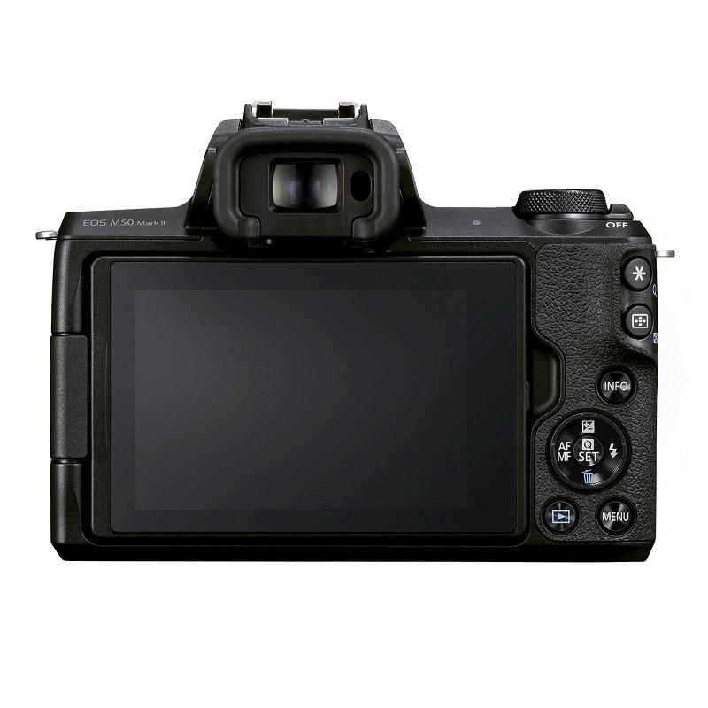 Cámaras de Canon ideales para videoblogs ¡conoce sus características! - camaras-canon-eos-m50-mark-ii-800x800