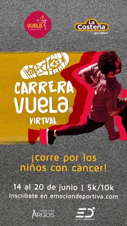 La carrera en dónde tus kilómetros recorridos se convierten en ayuda para los niños con cáncer