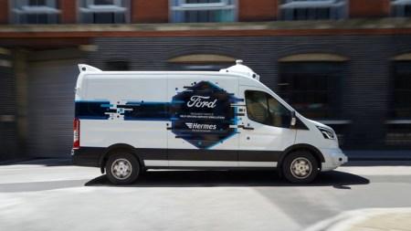 Ford y Hermes exploran el futuro de las entregas a domicilio