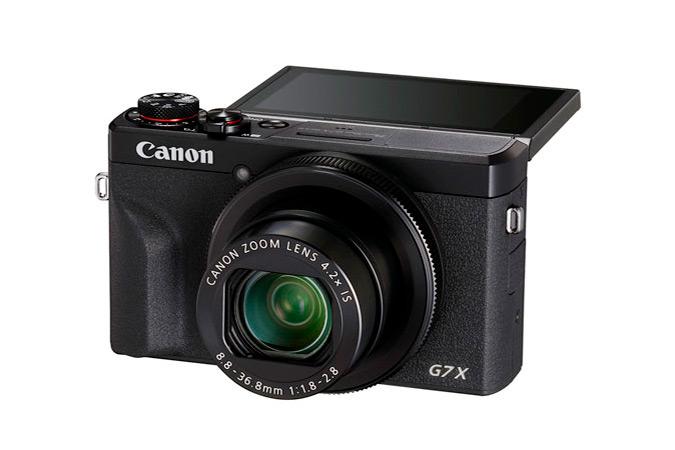 Cámaras de Canon ideales para videoblogs ¡conoce sus características! - g7x-mark-iii-camara-canon