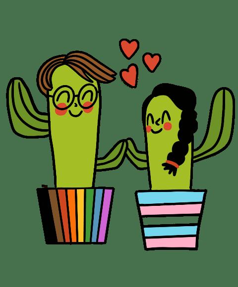 Instagram y Facebook celebran el Orgullo LGBTQ+ con nuevas herramientas creativas - instagram-facebook-orgullo-lgbtq-plantlovesticker