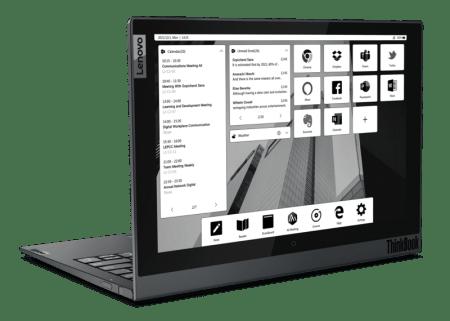 Lenovo ThinkBook Plus lanza una innovadora laptop con doble pantalla