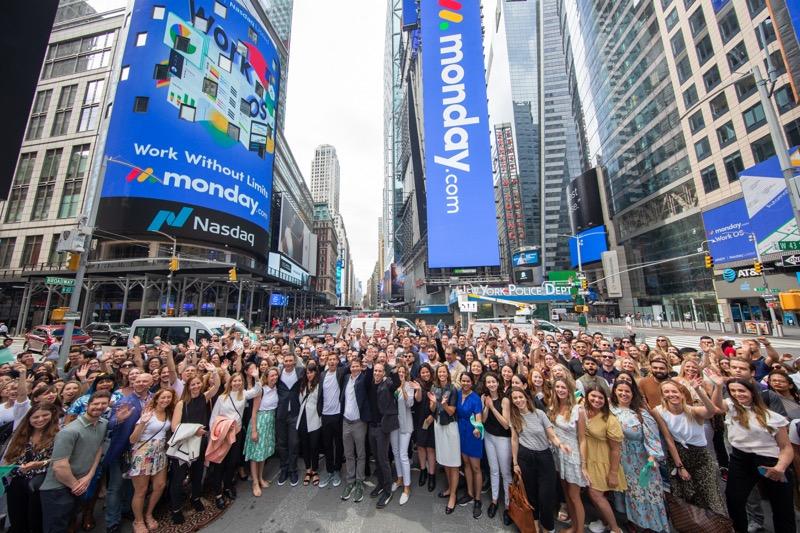 ¡monday.com ahora cotiza en la bolsa! y anuncia el precio de su oferta pública inicial - monday-cotiza-en-la-bolsa-2
