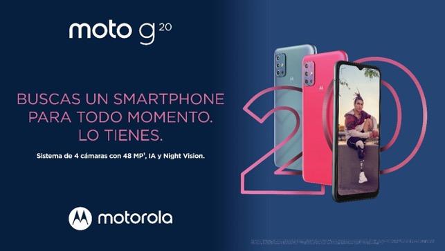¡Llega moto g20 a AT&T México! - moto-g20-motorola-2021