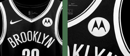 Motorola patrocinador oficial de los Brooklyn Nets para la temporada regular de la NBA 2021