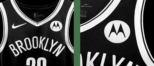 Motorola patrocinador oficial de los Brooklyn Nets para la temporada regular de la NBA 2021 - motorola-brookyn-nets-moto