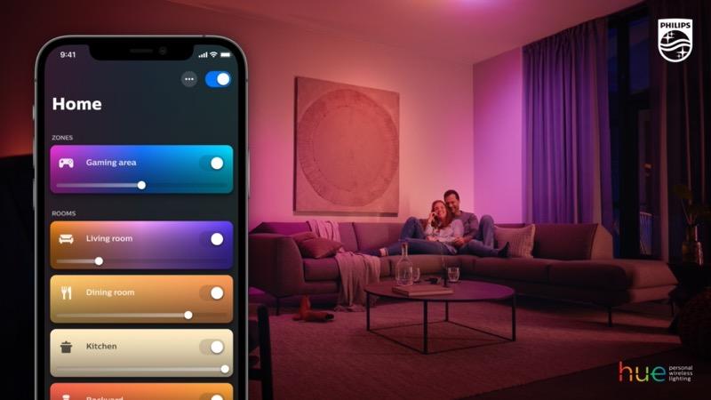 Signify lanza la nueva aplicación Philips Hue
