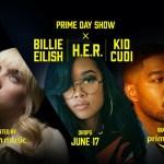 Amazon lanza el tráiler oficial del Prime Day Show, con los artistas Billie Eilish, H.E.R. y Kid Cudi