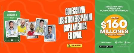 Kwai y Panini lanzan álbum digital Panini de la CONMEBOL Copa América 2021