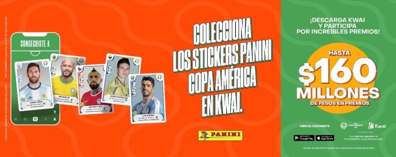 Kwai y Panini lanzan álbum digital Panini de la CONMEBOL Copa América 2021 - album-digital-kwai-panini-copa-america-2021-800x319