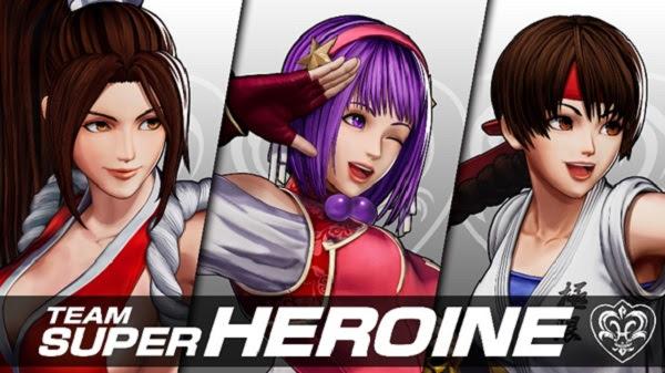 ATHENA ASAMIYA llega a KOF XV FOR THE ENTIRE SUPER HEROINE TEAM!  - Athena-asamiya-mai-shiranui-yuri-sakazaki