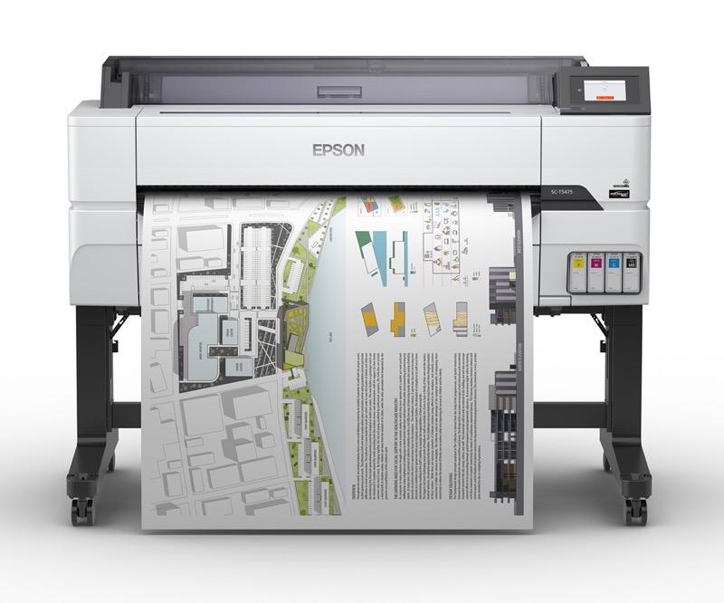 Nueva impresora SureColor T5475 Epson para imprimir planos, dibujos y gráficos - epson-impresora-surecolor-t5475