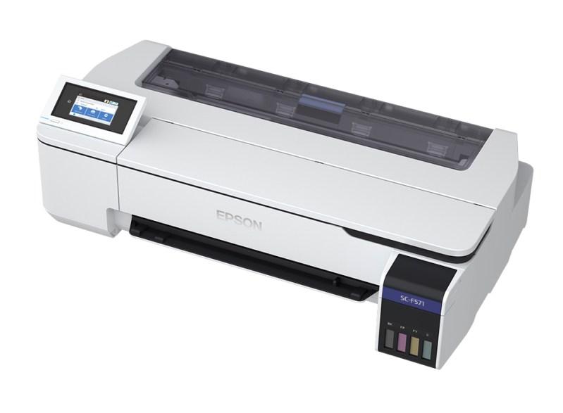 Epson SureColor F571, la solución para sublimación con tinta fluorescente