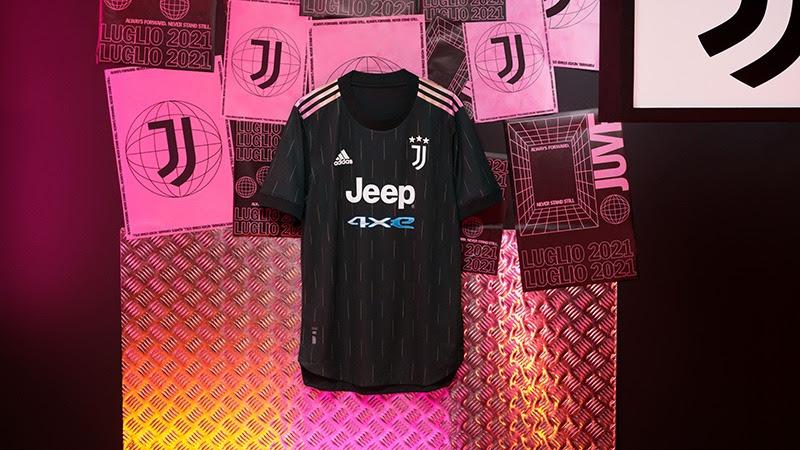 adidas presenta el nuevo jersey de visitante de la Juventus 2021/2022 - jersey-adidas-visitante-juventus